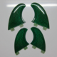 Performance Core Honeycomb FCS SF4 Fins Surfboard Fins Longboard Fins