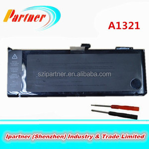 10.95V 73WH 9 Cells Laptop Battery Pack with 2 x Screwdrivers for Apple A1321 A1286