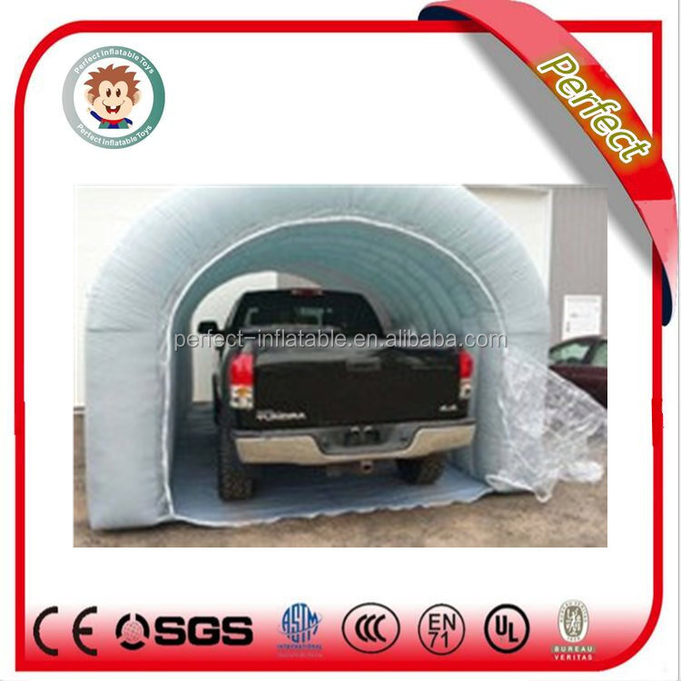 Commercial factory price folding car tent inflatable car garage tent
