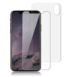 Tempered Glass Screen Protector For iPhone 8 7 6 6s Plus Protection HD Film For iPhone X Protective Glass 2 Pieces