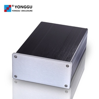 DIY Hifi pre-amplifier media player customized Aluminum Alloy Metal Case with Raspberry Pi 1/2/3 model B+