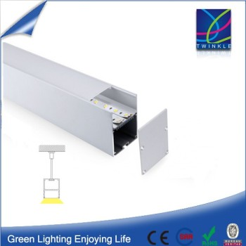 Guangzhou 100x100 0.5m 2.5m CRI 80 Samsung 5630 Aluminium LED Strip Profile With Cover