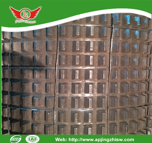 Electro galvanized welded wire mesh with square opening