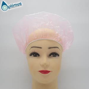 Manufacturer wholesale waterproof cap, bathing cap, LDPE disposable shower cap