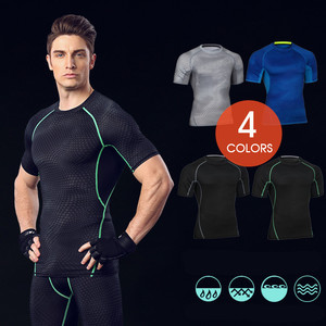 Custom Fitness Apparel Men's GYM Sport T Shirt Factory