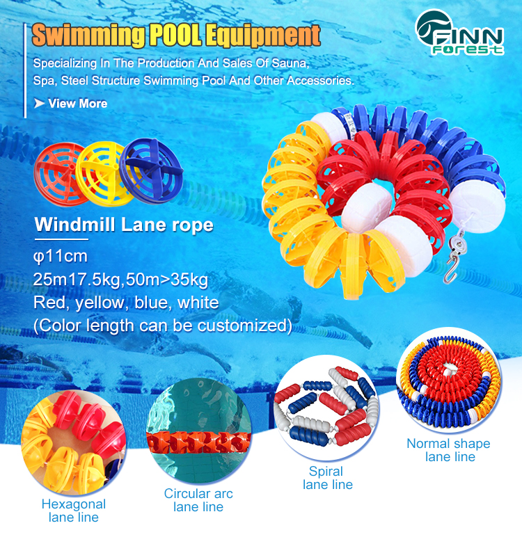 High Quality Customized Durable Lane Ropes For Swimming