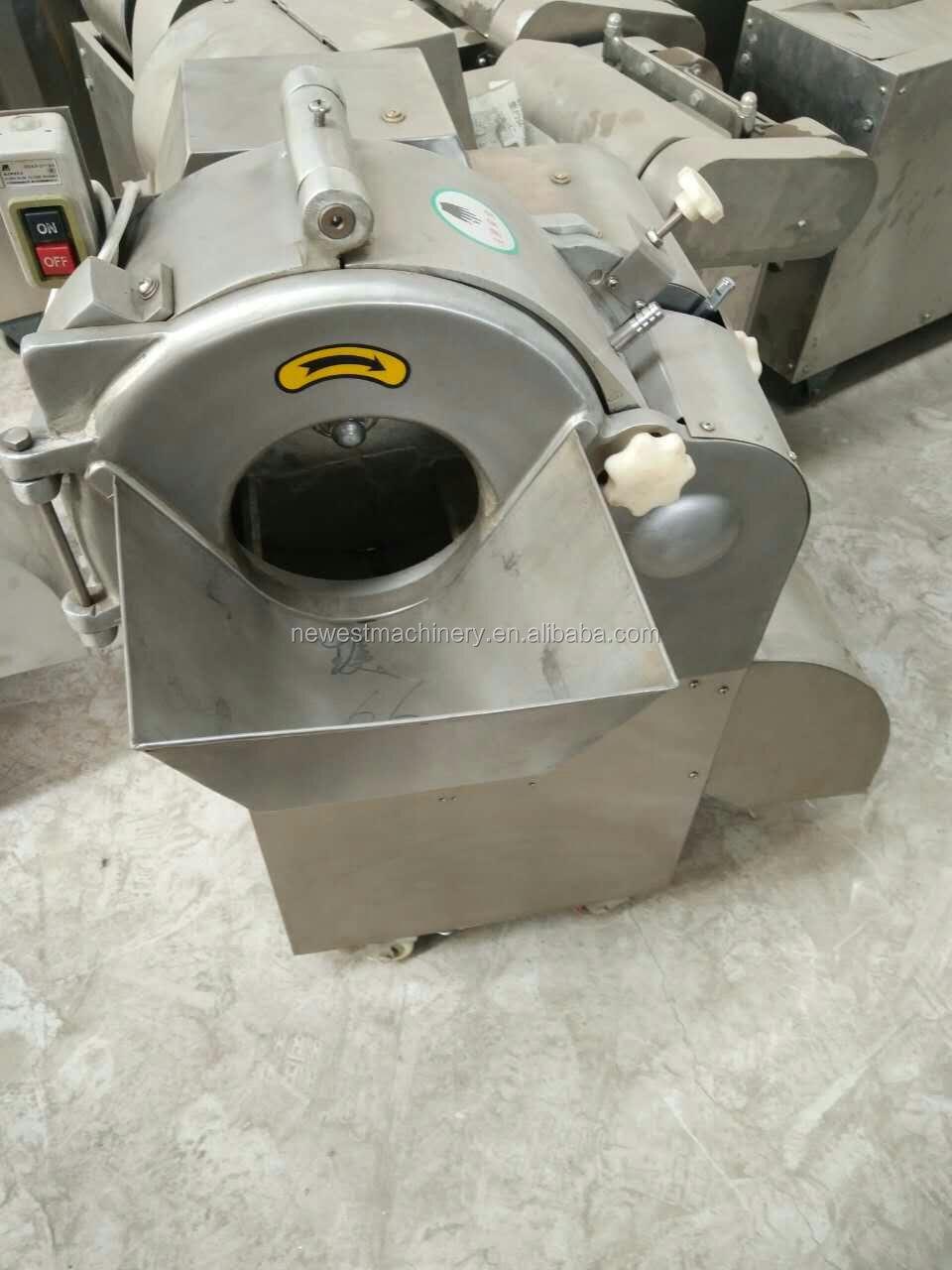 Listrik 200-1000 kg/h mesin dicing kelapa/kelapa cutter/slicer/pemain dadu untuk sayuran dan buah-buahan