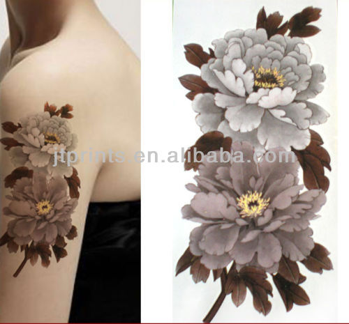 Temporary shoulder tattoo sticker body tattoo removal