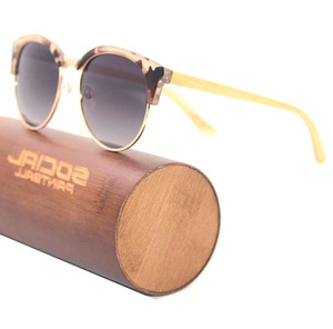 55bc6df5f16 High quality vintage style retro sunglasses bamboo sustainable wooden  eyewear