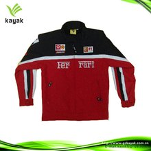 Safety motorcycle body armour kids' jacket