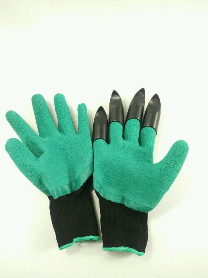 Garden Gloves for Digging and Planting Gloves With Unisex Claws