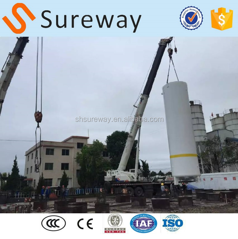 Industrial Cryogenic LOX LIN LAR Storage Tank for ASU Air Separation Plant