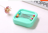 square Magnetic Pincushion/Pin holder/Pin Caddy /sewing accessory