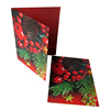 Chinese manufacturer customized printing 3d lenticular christmas cards