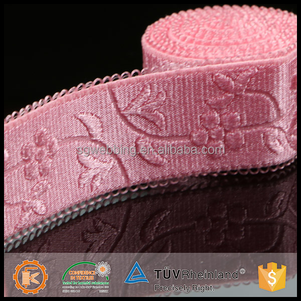 Cheap custom design hot sale 10cm wide fabric strap from China factory