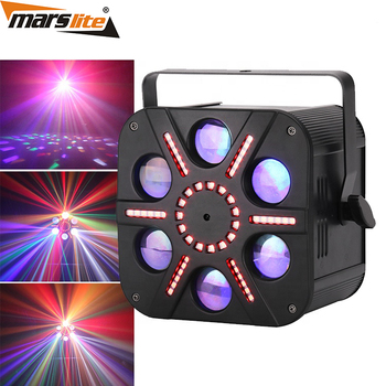 2019 Marslite high sunflower quality 3in1 combined effect laser led stage lighting for disco night club party