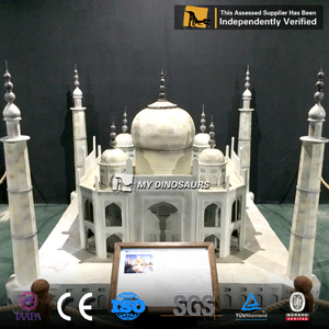 MY Dino MB-02 3D Miniature City Models Taj Mahal Replica