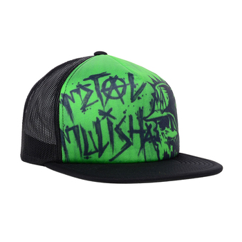 b0019b2c6e3 factory wholesale custom printed fashion Neon Green foam mesh snapback trucker  hats