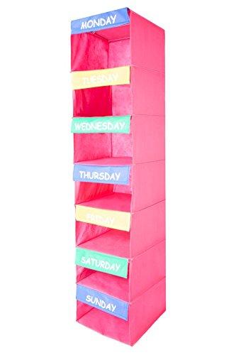 daily activity organizer kids 7 shelf portable closet hanging closet organizer great closet solutions