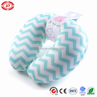 wave pattern ocean feeling travel neck pillow inflated