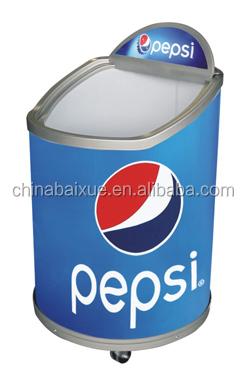 top opening barrel beverage fridge cc48 beverage coolers promotion cooler - Beverage Coolers