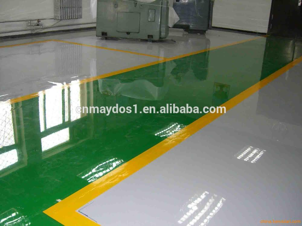 Anti Slip Rough Surface Epoxy Floor Paint Indoor Concrete