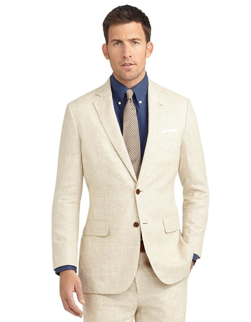 Linen Suit: The one kind of skin friendly and summer cool suit variety that is casual and smart is a Linen suit men always cherish as their best collections of all time. Talking about linen need no specific introduction as it is one of the oldest fabric varieties that was being used by men .