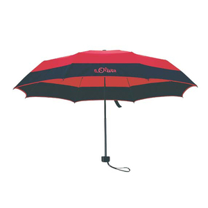 High Quality Cheap Advertising Shade 3 Folding Wind proof Umbrella With Logo Print