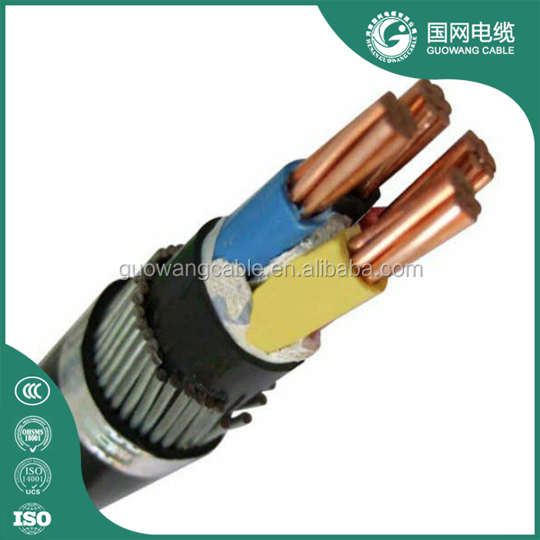 11 kV xlpe insulated 250mm2 Power armoured Cable