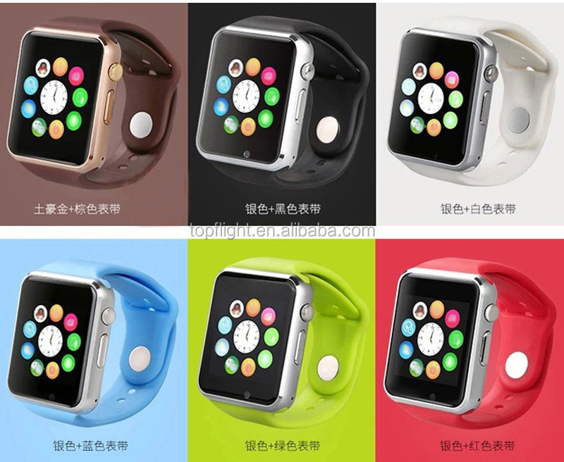 Smart Watch For Android Samsung iPhone A1 GSM Touch Screen Bluetooth Wrist Watch