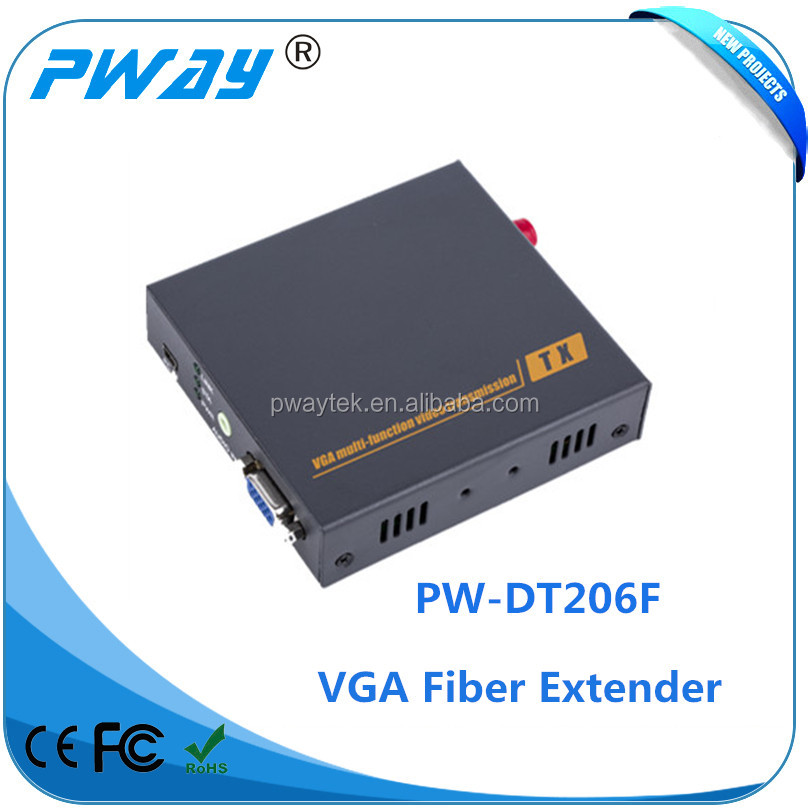 VGA video and audio transmitter with highest resolution HD video signals catv optical receiver