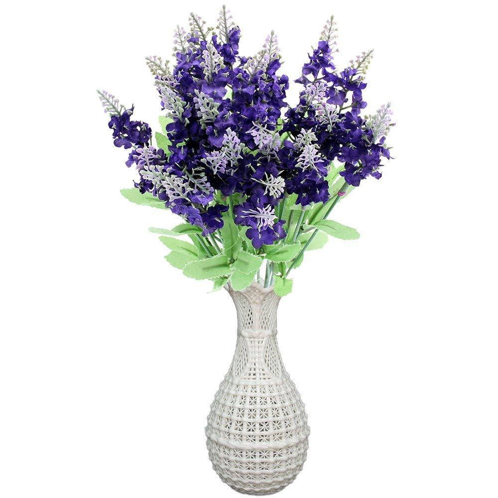 Cheap dark purple silk find dark purple silk deals on line at get quotations topixdeals artificial lavender silk flower for bouquets wedding home party decor 3 x 10 heads mightylinksfo