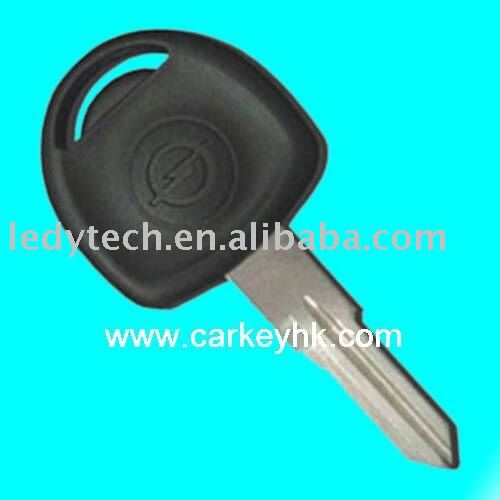 Hot sales:High quality Opel transponder key with right blade ID40 chip