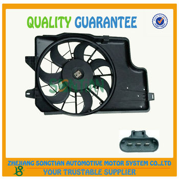 Auto Parts F5zz 8c607-b 12v Radiator Cooling Fan For Ford Made In ...