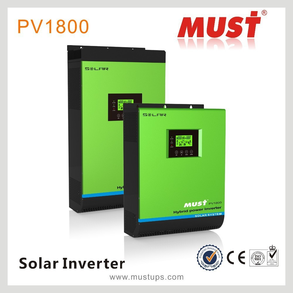 Hybrid Solar power inverter 4000w 48V with 60A mppt solar charge controller off grid solar inverter Remote controller