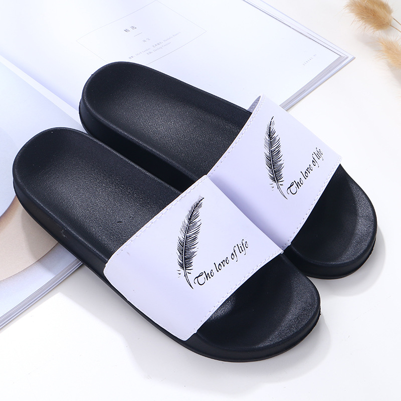 Hot Sale PVC custom logo <strong>slippers</strong> slide sandal printing logo <strong>slippers</strong> Air Blow Design Print Beach Walk <strong>Slippers</strong>