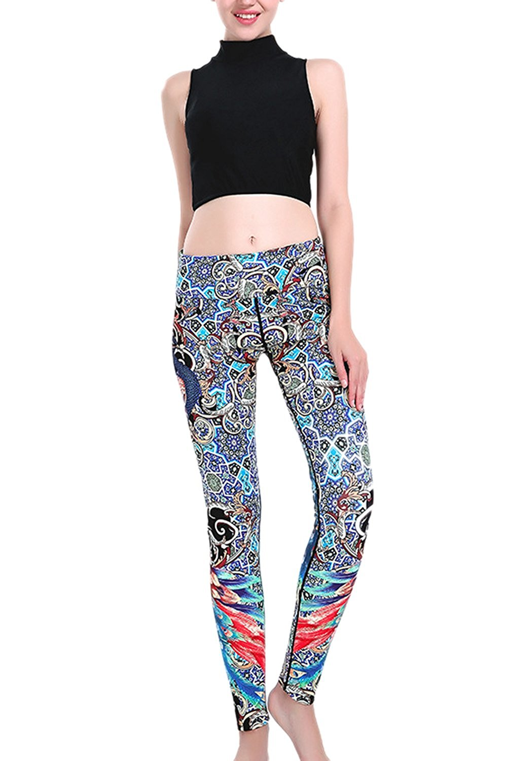 Patterned Pants Womens Magnificent Design