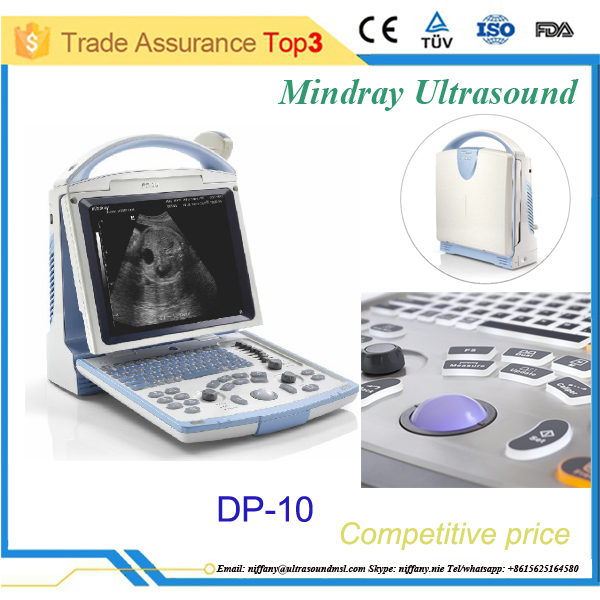 Cheap portable Mindray ultrasound machine with CE & FDA certificates DP-10