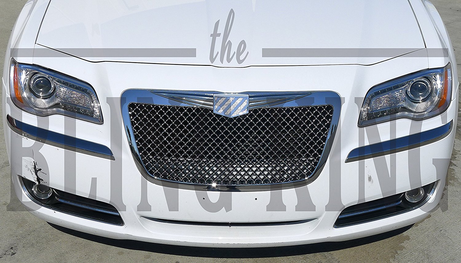 for grille mesh chrysler black style front bentley grill with itm emblem z