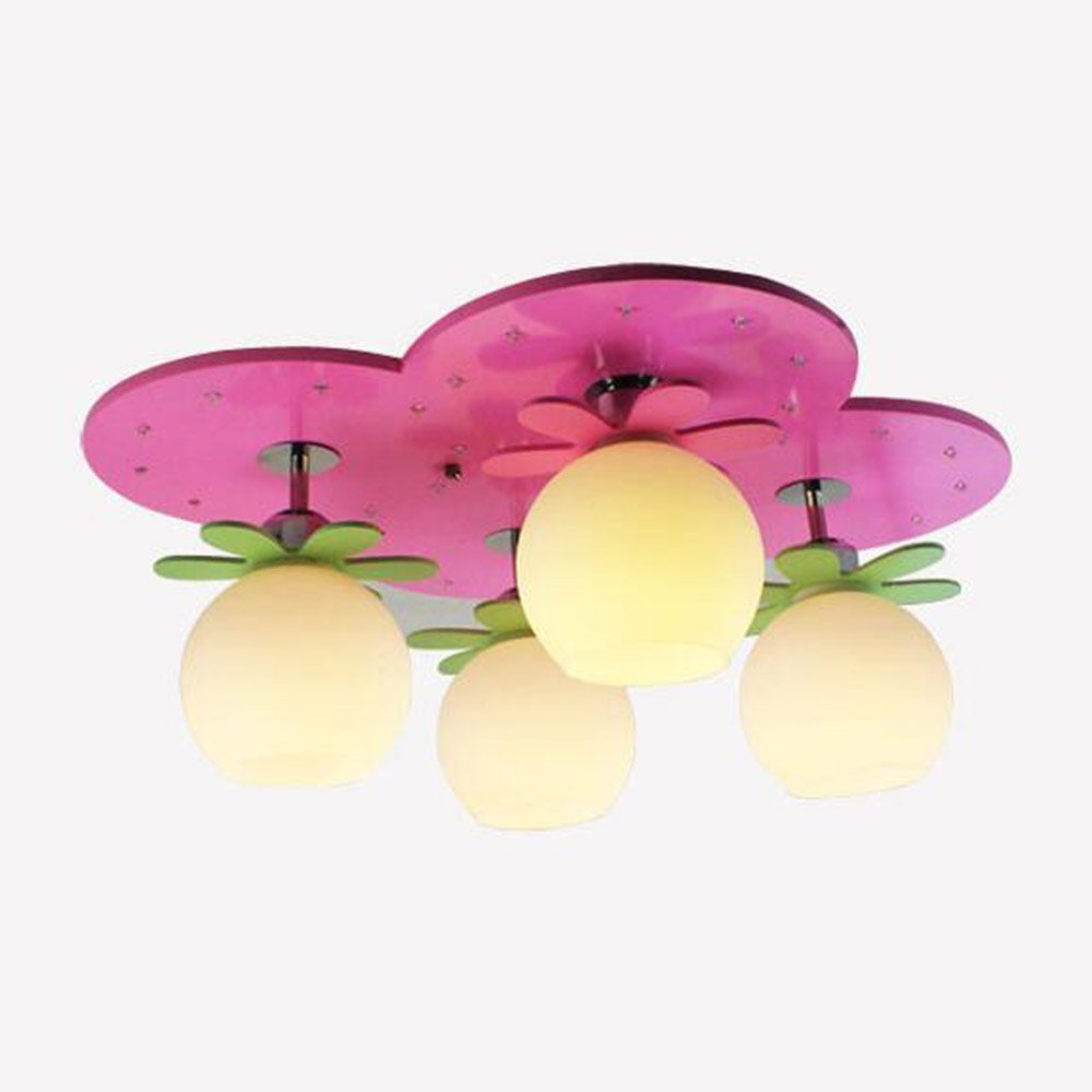DIDIDD Ceiling light- led eye protection children's room creative energy-saving cloth ceiling light bedroom princess room ceiling light --home warm ceiling lamp