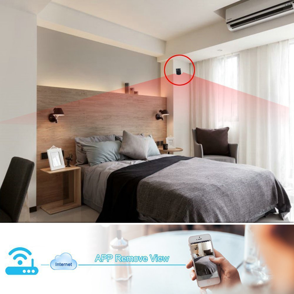 Cctv Bedroom Wifi Wireless Hidden Camera,Long Time Recording Portable Mini  Hidden Spy Battery Powered Wireless Security Camera - Buy Battery Operated  ...