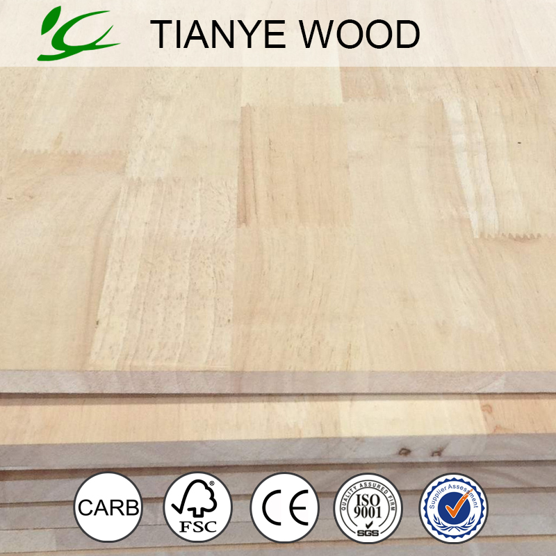 Thailand rubber wood finger joint board