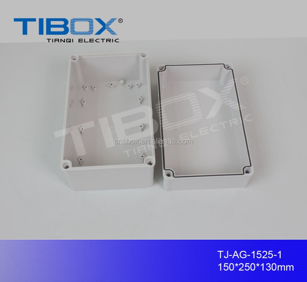 TIBOX hot sale high quality IP66 ABS Waterproof Enclosure/electricity meter box 150X250X130mm