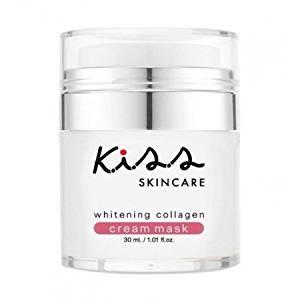 K.I.S.S Whitening Collagen Cream Mask With facial cream mask. Enriched with collagen wholesome. Abu alpha carotene...