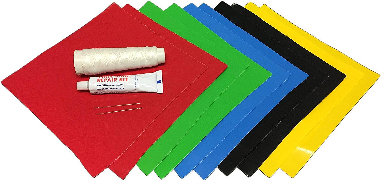 Gorilla Bounce Multi-Color Professional Vinyl Repair Patch Kit