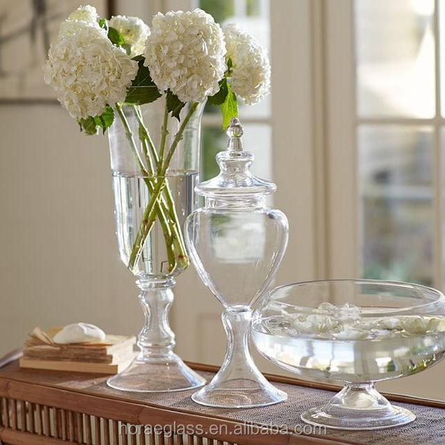 Big Goblet Shape Glass Vase Wholesale Glass Vase Suppliers Alibaba