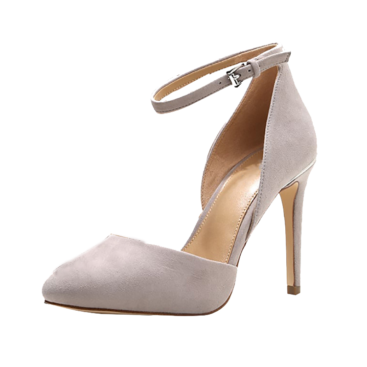Shoes Women Style Thin 2018 Pumps High Wedding Suede Stilettos European Heels 7Ipwqv