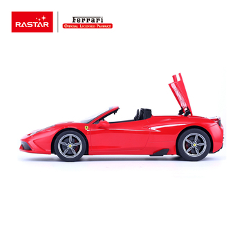 Rastar wholesale toys Ferrari licensed plastic drift rc electric car