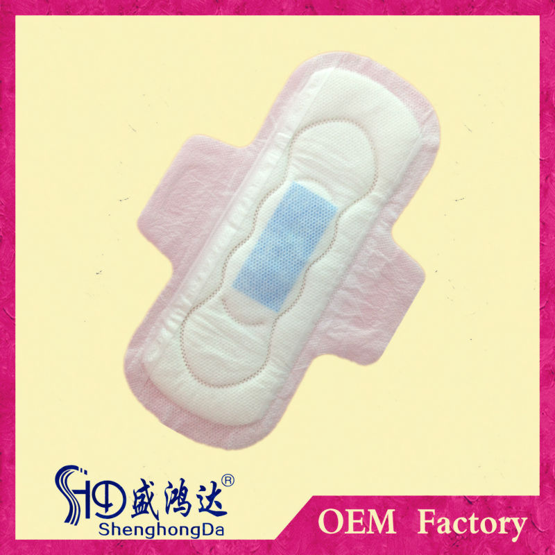 Soft And Dry Lady Anion Pads Sanitary Napkin Import To South ...