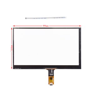 Waterproof 6.2, 7, 8, 9, 10.1, 15 Inch Capacitive Touch Screen Panel
